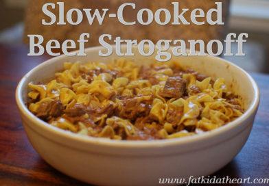 Slow-Cooked Beef Stroganoff