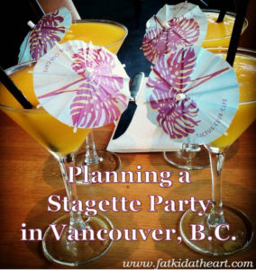 Stagette party in Vancouver BC