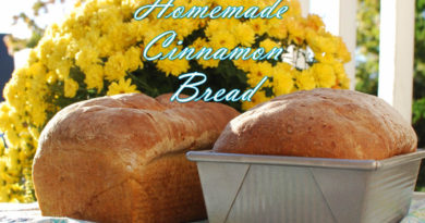 Kate's Homemade Cinnamon Bread from www.fatkidatheart.com