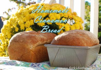 Kate's Homemade Cinnamon Bread